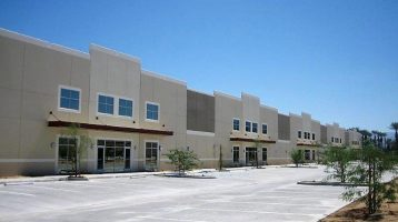 COMMERCIAL REAL ESTATE INLAND LEASED WAREHOUSE IN PALM DESERT CA